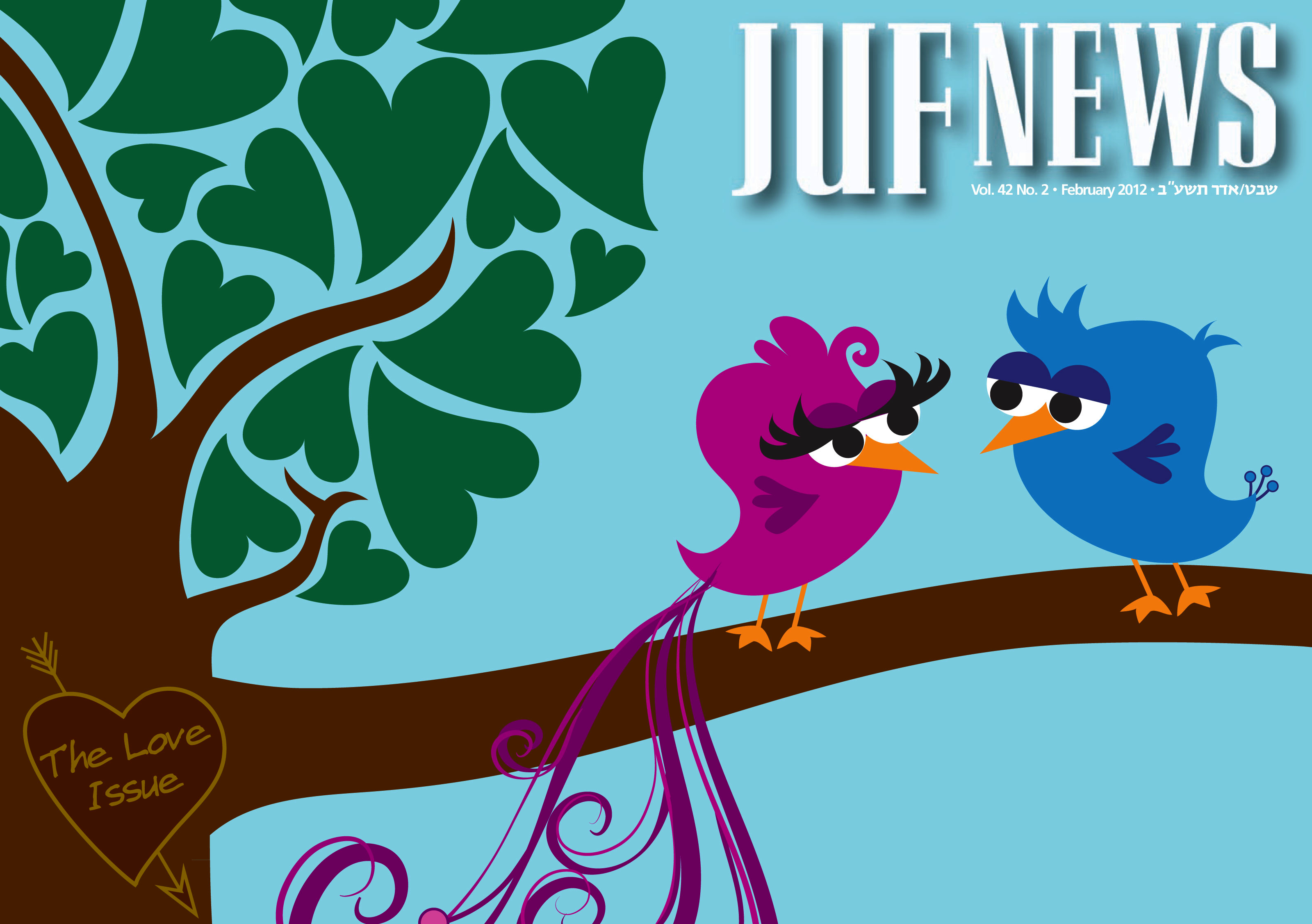 JUF News Covers